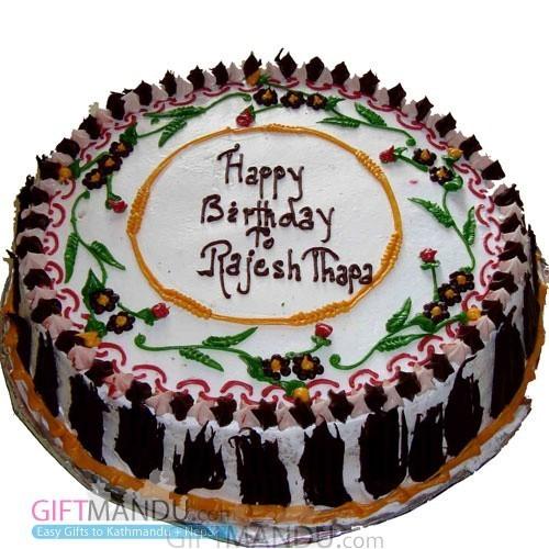 Vanilla Cake for Pokhara (GB19)