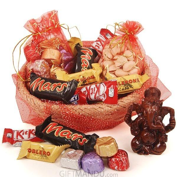 Chocolates, Dry Nuts & Ganesh Ji