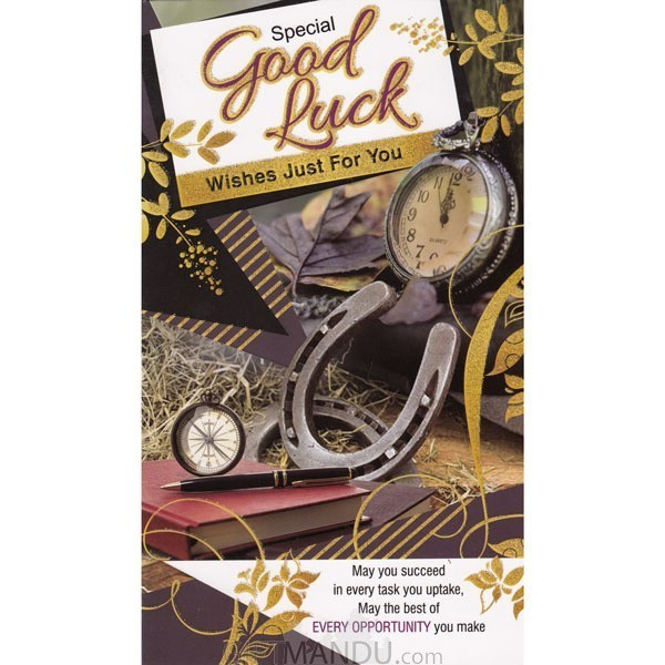Special good luck wishes just for you greeting card send gifts special good luck wishes just for you greeting card m4hsunfo