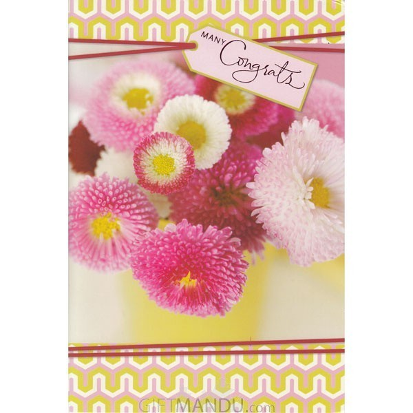 Many Congrats - Greeting Card