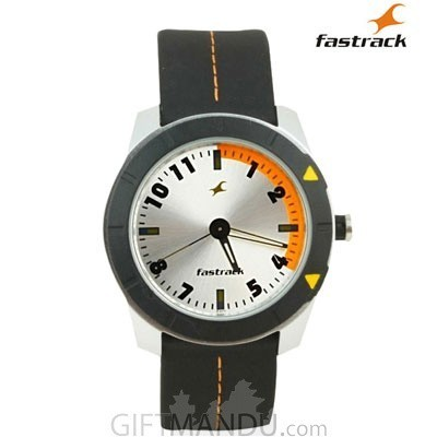 Fastrack Grey Dial Analog Watch for Men (3015AL01)