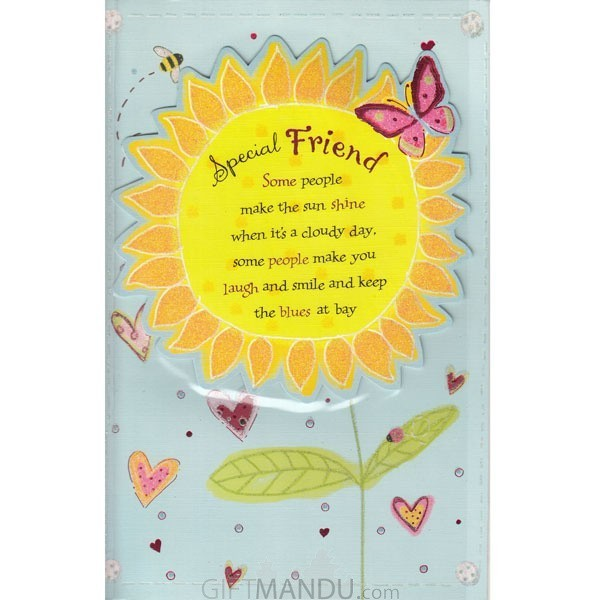 Special Friend - Greeting Card