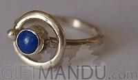 Lapis Lazoli Sterling Silver Ring (SJ-1094)