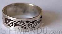Silver Ring Nepali Design (SJ-1097)