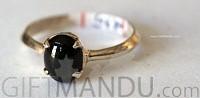 Black Star Sterling Silver Ring (SJ-1104)
