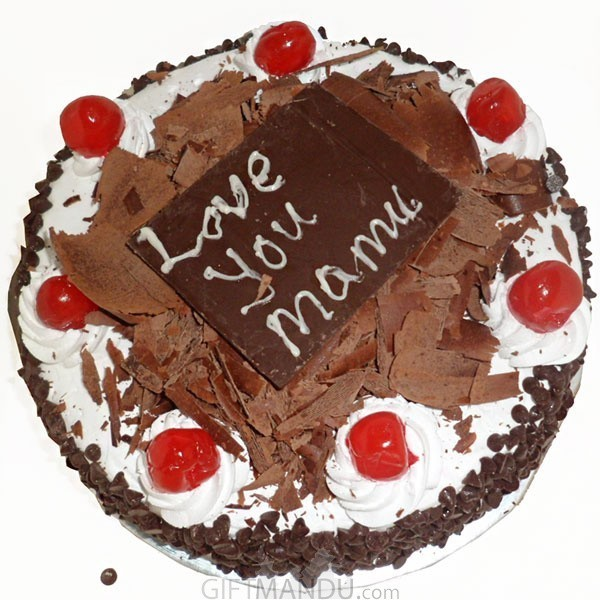 Five Star Treats of Black Forest Cake for Mother