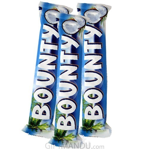 Bounty X 3 Chocolate Bars