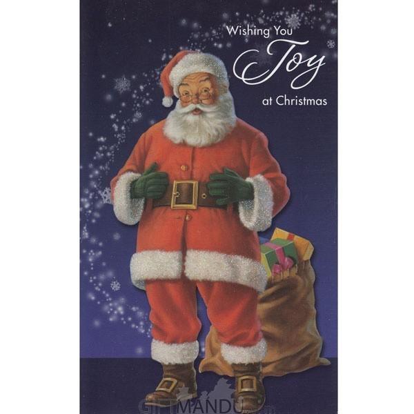Wishing You Joy at Christmas - Greeting Card