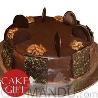 Chocolate Mud Cake from Hotel Annapurna