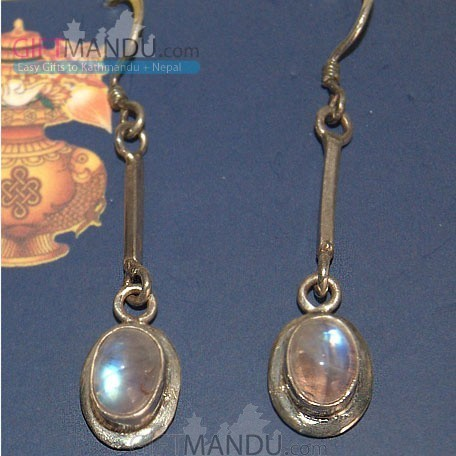Silver Earring - Sparkling