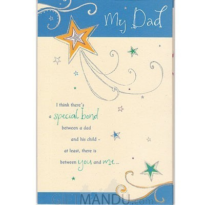 My Dad - Special Bond Greeting Card