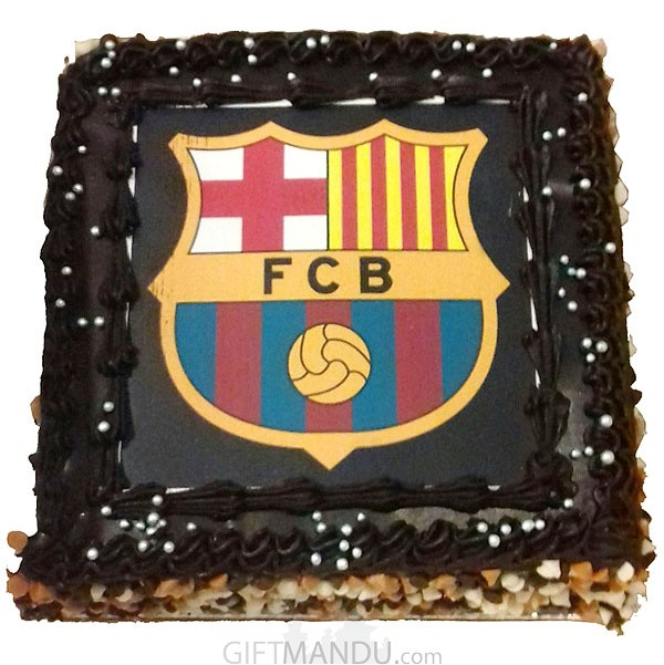 Cake for Football Lover (Print Any Photo on Cake) for Kathmandu Valley