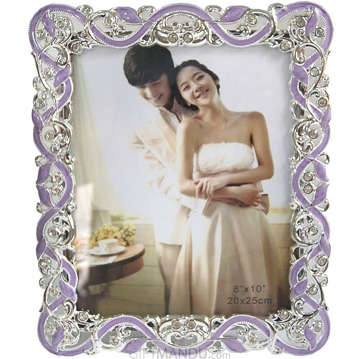 Panorama Table Top Designer's Photo Frame (Purple)