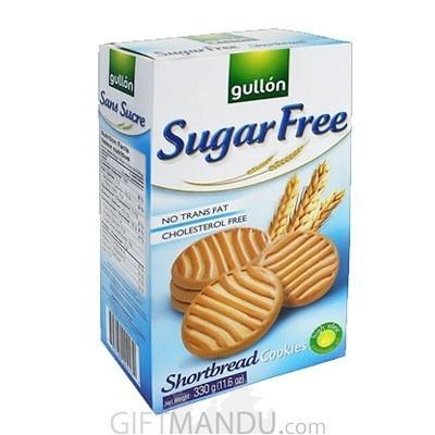 Gullon Sugar Free Shortbread Cookies 330g