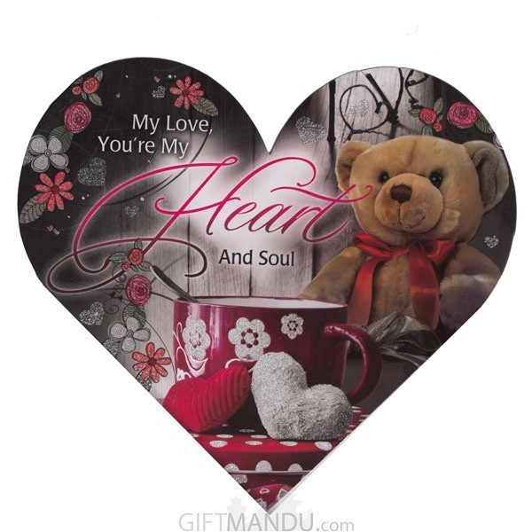My Love, You're My Heart And Soul - Greeting Card