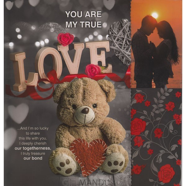 You Are My True Love - Greeting Card