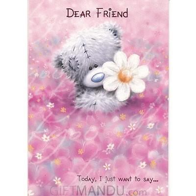 Dear Friend Greeting Card