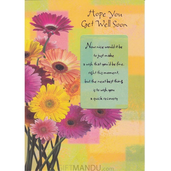 Hope you get well soon greeting card send gifts to nepal gifts hope you get well soon greeting card m4hsunfo