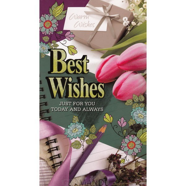Best Wishes Just For You Today And Always - Greeting Card