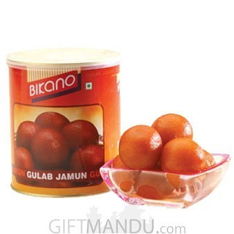 Gulab Jamun Tin Box from Bikano 1kg