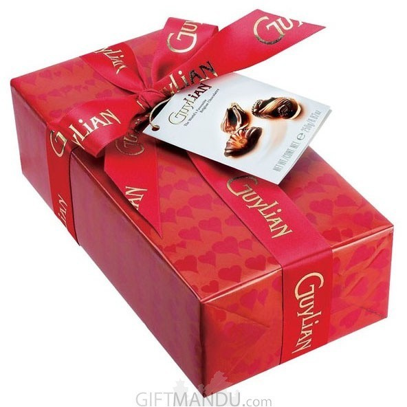 Guylian The World's Favourite Belgian Chocolates (Special Red Ribbon Wrap) 250g