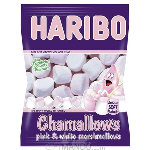 Haribo Chamallows - Pink and White Marshmallows Pack