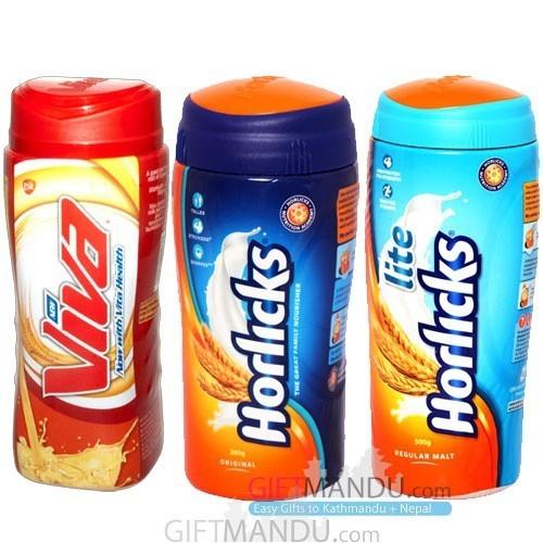 Health Drinks (Horlicks and Viva)