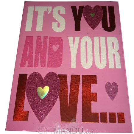 Its you and your love archies large size greeting card send its you and your love archies large size greeting card m4hsunfo