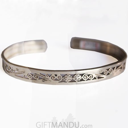 Silver Bracelet - Jali Mini 2 Design