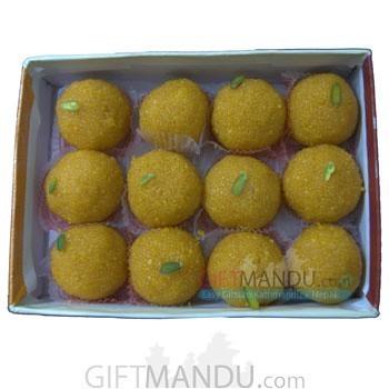 Kanpuri Laddoo Box of 12 pcs for Dharan