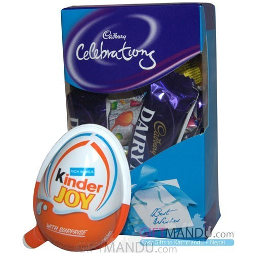 Cadbury Celebrations and Kinder Joy for Kids