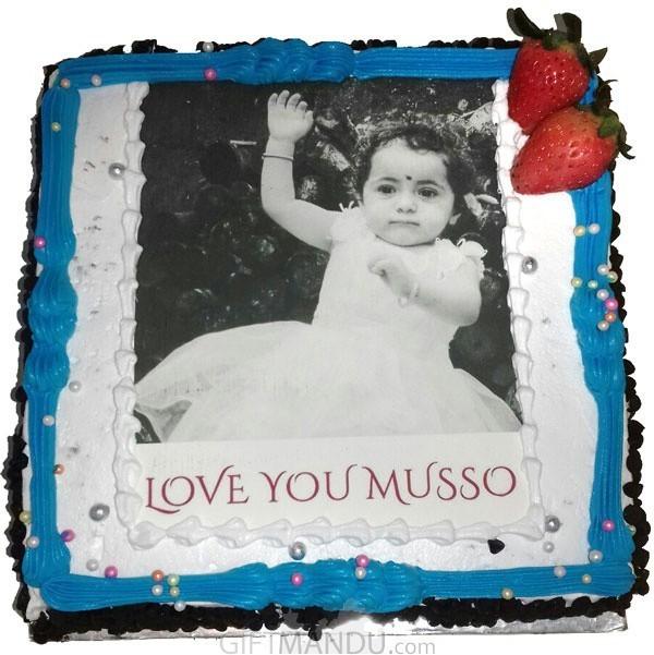Best Photo Birthday Cake Online Delivery Gifts To Nepal Giftmandu