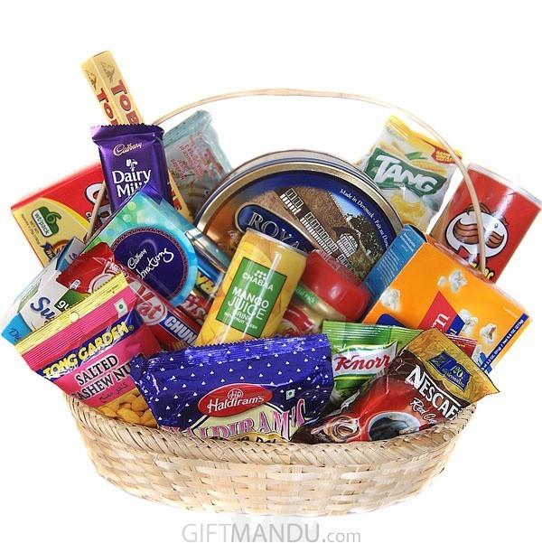 All-Goodies-Basket - Snacks & Chocolates