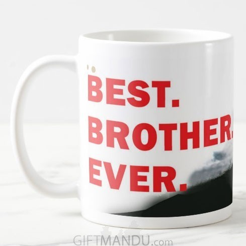 World's Best Brother Ceramic Coffee Cup