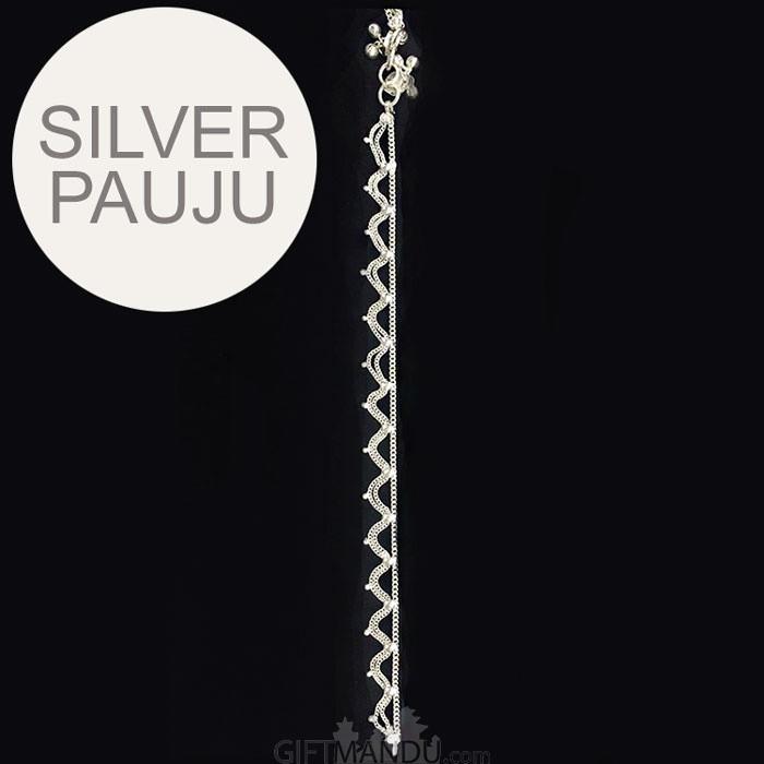 Silver Pauju (Anklets) - Design SL03