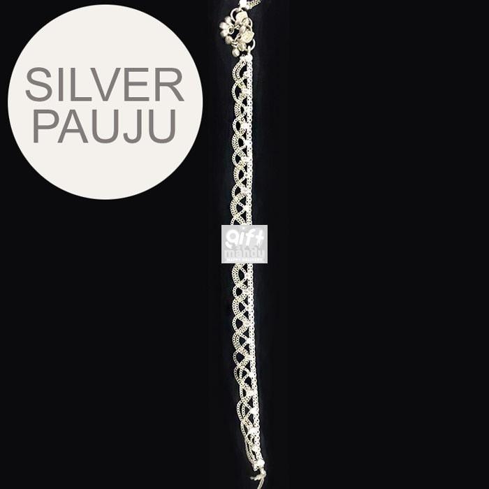 Silver Pauju (Anklets) - Design SL02