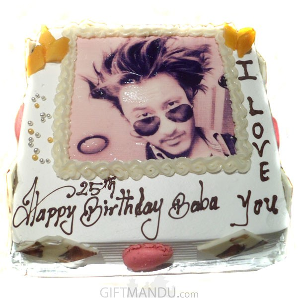 Memorable Photo Cake (Print Any Photo on Cake) for Kathmandu Valley