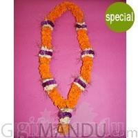 Exclusive Garland - Sayapatri, Godabari and Makhamal