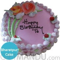 Strawberry or Your Choice of Cakes to Narayangarh Bharatpur