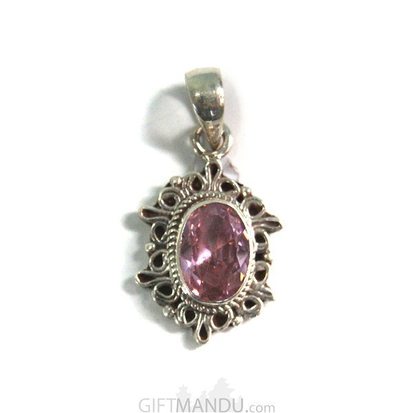Sterling Silver Amethyst Stone