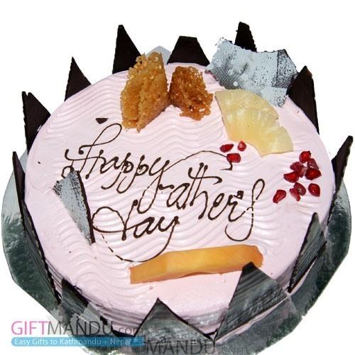 Five Star Strawberry Cake
