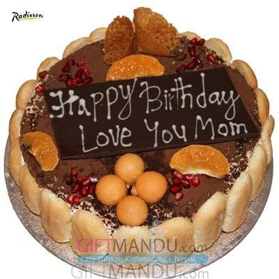 Tiramisu Cake from Radisson Hotel