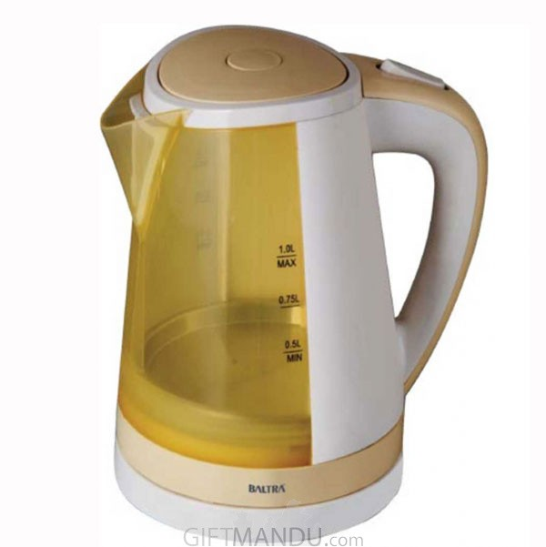 Baltra Trendy Electric Kettle 1 Ltr - (BC-114)
