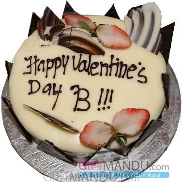 Vanilla Love Cake from Radisson Hotel