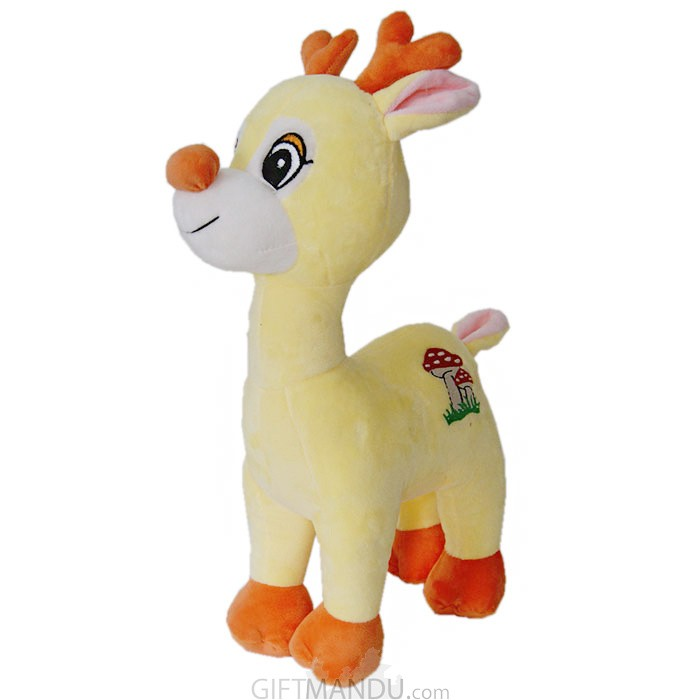 Baby Deer Toy Yellow 15""