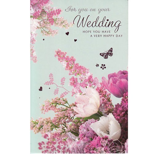 For You on Your Wedding - Greeting Card
