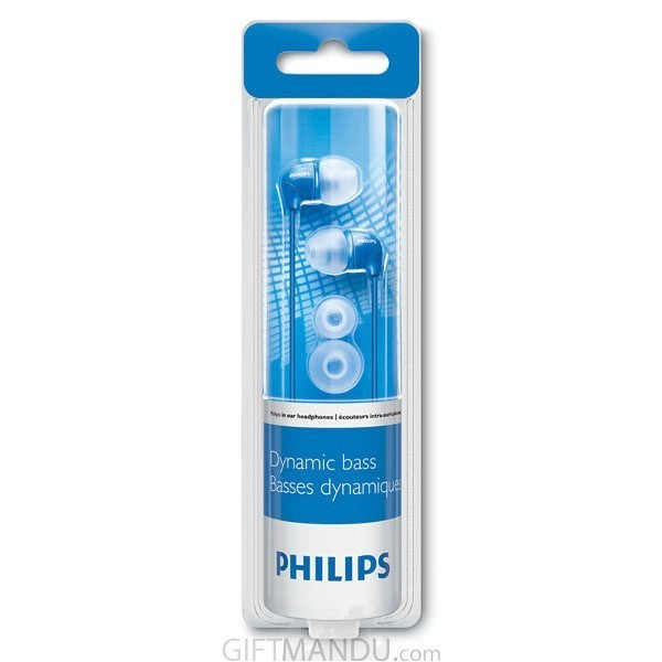 Philips In-Ear Headphone- Blue SHE3590BL/10