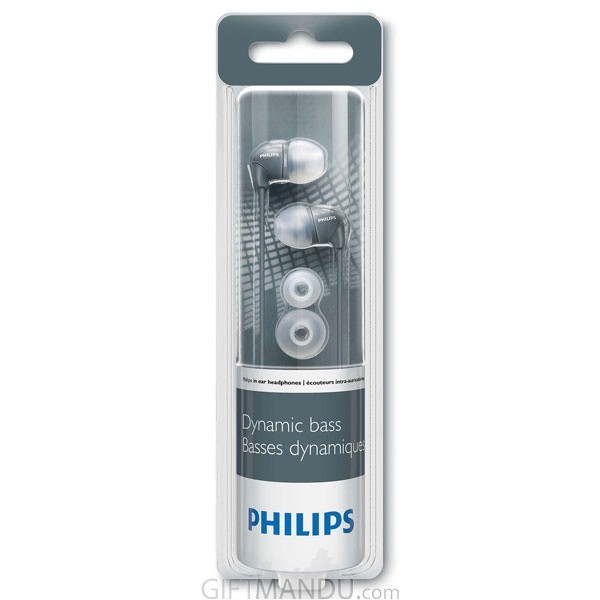 Philips In-Ear Headphone- Grey SHE3590GY/10