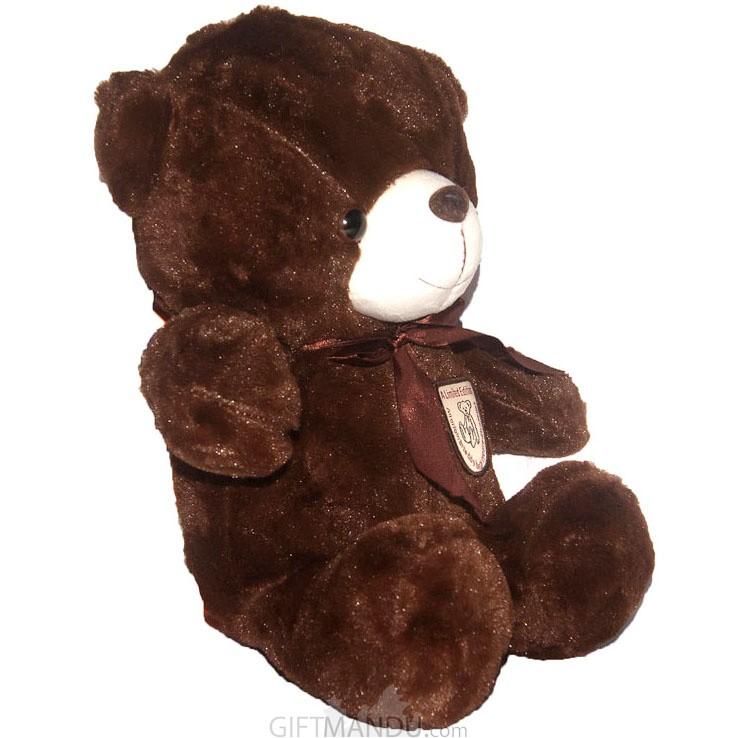 7dbdd35020e ... Dark Brown Soft Teddy Bear (17 Inch) ...