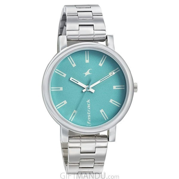 Fastrack Blue Dial Analog Ladies Watch - 68010SM02